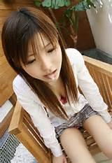 Innocent Japanese Schoolgirl Blowjob