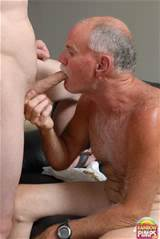 Horny Old Man Gay Blowjob