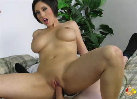 Busty babe Dylan Ryder rides dick before she sucks it.