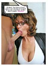 Mom/son, father/daughter incest blowjob captions -